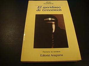 El meridiano de Greenwich: Jean Echenoz