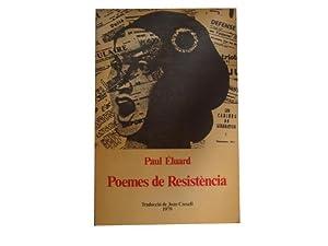 Poemes de Resistència: Paul Éluard