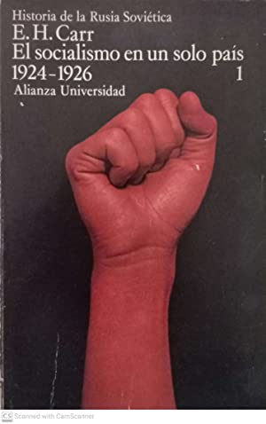 El socialismo en un solo país (1924-1926),: E.H. Carr