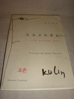 Ananda. 108 poemas Zen: Ko Un
