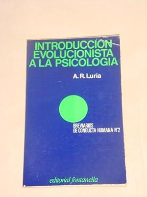 Introducción evolucionista a la psicología: A. R. Luria
