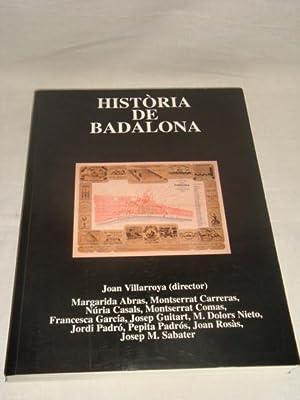 Història de Badalona: Joan Villarroya (director)