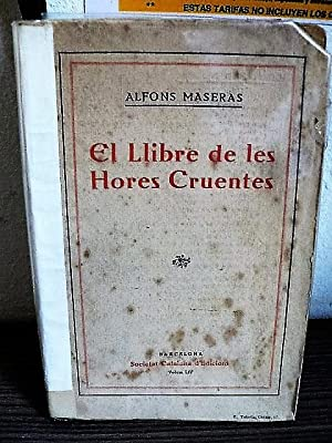 El llibre de les hores cruentes: Maseras, Alfons