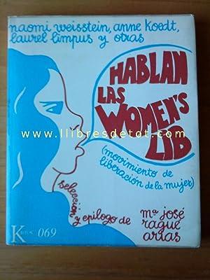 Hablan las women's lib: Naomi Weisstein, Anne