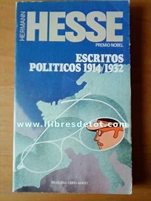 Escritos políticos 1914/1932: Hermann Hesse