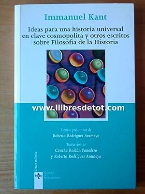 Ideas para una historia universal en clave: Immanuel Kant