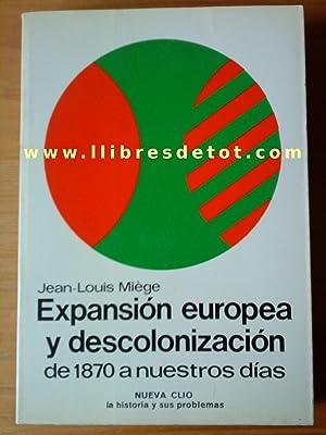 Expansión europea y descolonización de 1870 a nuestros días: Jean-Louis Miège