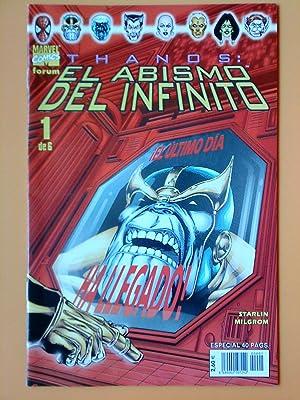 Thanos: El abismo del infinito. Fórum, 1 de 6: Jim Starlim. Al Milgrom