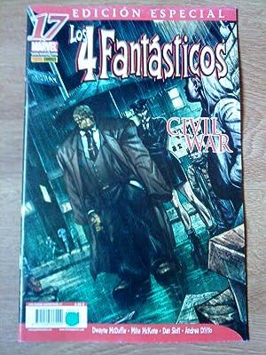 Los 4 Fantásticos. Edición especial. Civil War.: Dwayne McDuffie. Stan
