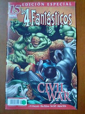 Los 4 Fantásticos. Edición especial. Cae el: J. Michael Straczynski.