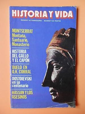 Historia y vida. Montserrat. Montaña, Santuario, Monasterio.: Diversos autores