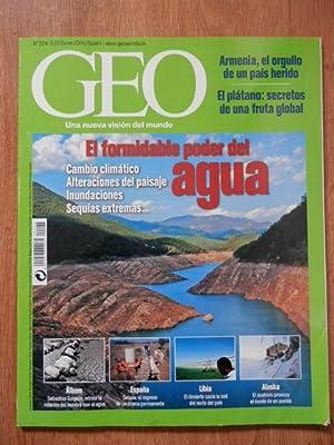 Geo. Una nueva visión del mundo. El formidable poder del agua. Nº 224: Diversos autores