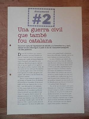 Els papers confiscats de Salamanca. Una guerra: Edició a cura