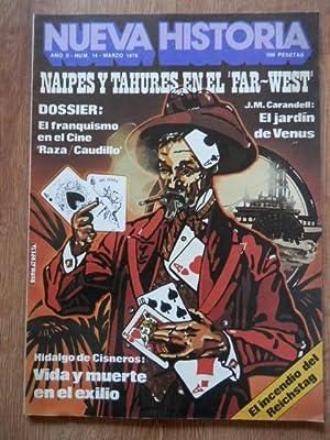 Nueva Historia. Naipes y tahures en el: Diversos autores