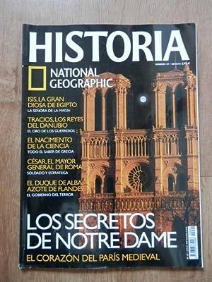 Historia. National Geographic. Los secretos de Notre Dame. Nº 49: Diversos autores