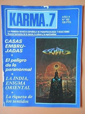 Karma.7. Año X. Núm. 102. Casas embrujadas: Diversos autores