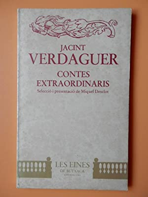 Contes extraordinaris: Jacint Verdaguer