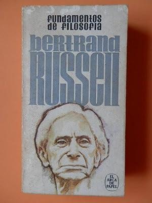 Fundamentos de filosofía: Bertrand Russell
