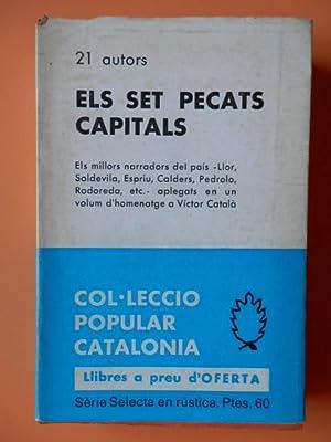 Els set pecats capitals. En homenatge a Víctor Català: Vistos per 21 autors