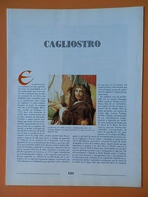 Profecías y Utopías. Cagliostro. De la pg 131 a la 146: Director: Fernando Jiménez ...