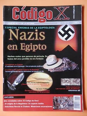 Código X. Enigmas de hoy y de la historia. Año 1/Nº 03. Nazis en Egipto: ...