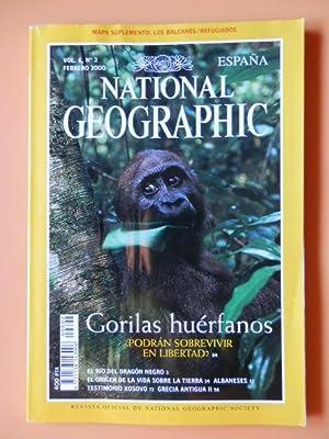 National Geographic España. Gorilas huérfanos. Vol. 6. Núm. 2: Diversos ...