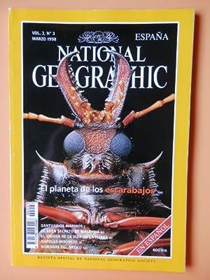 National Geographic España. El planeta de los escarabajos. Vol. 2. Núm. 3: Diversos ...