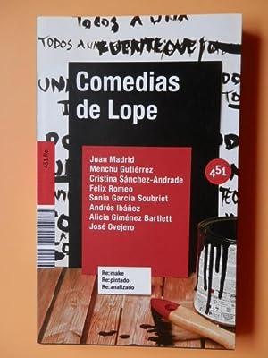 Comedias de Lope: Juan Madrid. Menchu