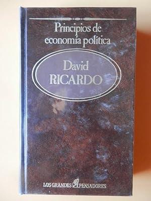 Principios de economía política: David Ricardo