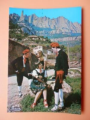 Parejas típicas catalanas. Montserrat. Barcelona, nº 2.339: Diversos autores