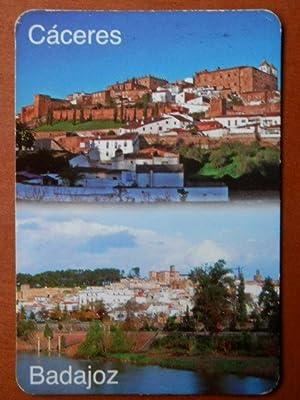 Calendario de bolsillo Cáceres. Badajoz 2010: Diversos autores