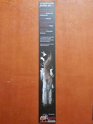 Marcapáginas Escuela Canaria de Creación Literaria. Cursos: Foto: Miguel Ángel
