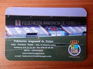 Calendario de bolsillo Federación Aragonesa de Fútbol: Diversos autores