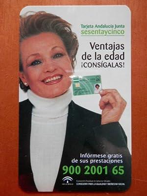 Calendario de bolsillo Tarjeta Andalucía Junta: Diversos autores