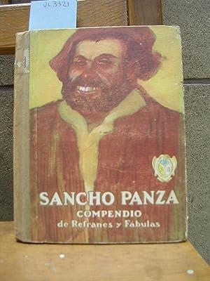 SANCHO PANZA. Compendio de refranes y fábulas para ejercicios de lectura elemental. ...