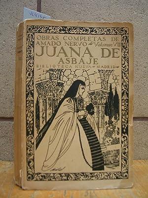 JUANA DE ASBAJE (Contribución al centenario de: NERVO, Amado