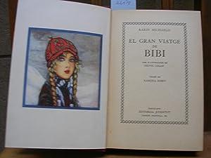EL GRAN VIATGE DE BIBI amb il.lustracions de Hedvig Collin. Versió de Ramona Roset: ...