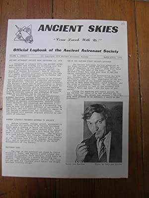 ANCIENT SKIES. ¡Come Search with Us!. Official Logbook of the Ancient Astronaut Society. Volume I...