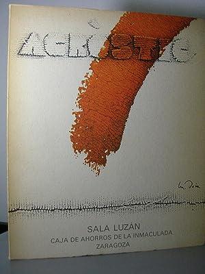 MANUEL BOIX. Obra de 1981 - 1982.: Catálogo. Exposición (Textos