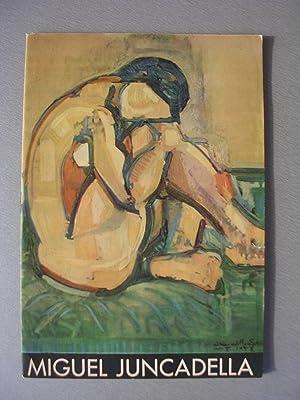 MIGUEL JUNCADELLA exposición póstuma en Sala Gaspar: Catálogo