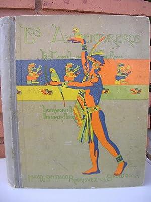 LOS AVENTUREROS. Ilustraciones de Antequera Azpiri: LINARES RIVAS, Manuel