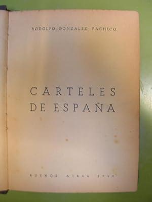 CARTELES DE ESPAÑA: GONZALEZ PACHECO, Rodolfo