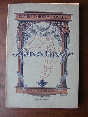 SONATINES (Segona edició): TORRES ROSELL, Ramon