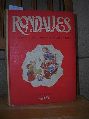 RONDALLES ESCOLLIDES. Pròleg de Carles Riba. Il.lustracion d'Elvira Elias. Tria, ...