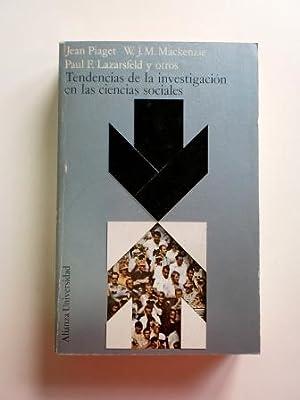 TENDENCIAS DE LA INVESTIGACIÓN EN LAS CIENCIAS: Piaget, Jean &