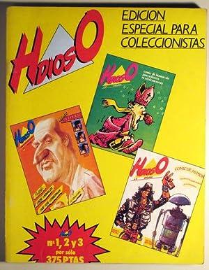 HdiosO. Mensual de humor y cómic. Nº 1, 2 y 3: Comic - Humor)
