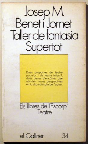 TALLER DE FANTASIA (LA NIT DE LES: BENET I JORNET,