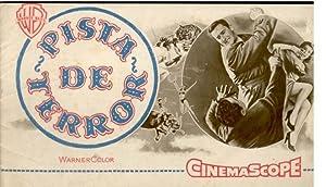 PISTA DE TERROR (Ring of Fear). Clyde: Publicidad Warner Bros.