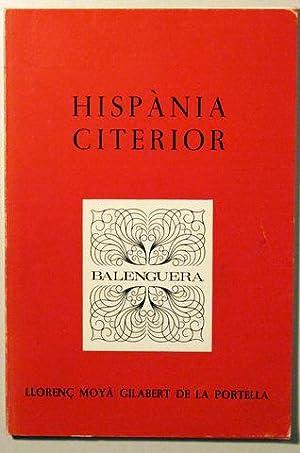 HISPÀNIA CITERIOR - Moll 1981 - 1ª: MOYÀ GILABERT DE