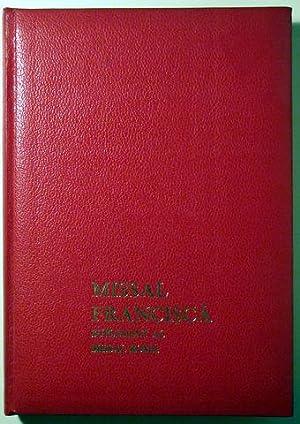 MISSAL FRANCISCÀ. SUPLEMENT AL MISSAL ROMÀ -